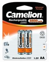 Аккумулятор никель-металлгидридный AA 2500мА/ч. 1,2В (уп.=2 шт.) CAMELION 6107 Camelion купить по оптовой цене