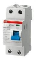Выключатель дифференциального тока (УЗО) 2п 63А 300мА тип AC F202 ABB 2CSF202001R3630 AC-63/0,3 купить по оптовой цене