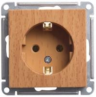 Механизм розетки W59 16А без защ. шторок с заземл. бук SchE RS16-154-8-86 Schneider Electric купить по оптовой цене