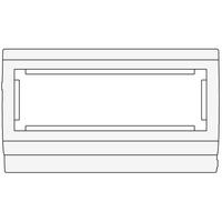 Рамка-суппорт 3 поста под 6 модулей 45х45 мм PDA3-45N 100 564 DKC, цена, купить