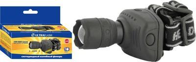 Фонарь налобный LED 5354 (1Вт ZOOM 3 режима; 3хR03 сер.) Ultraflash 11549