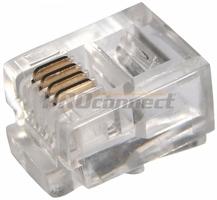 Гнездо/штекер модульного разъема PROconnect 05-1012-3 REXANT купить по оптовой цене