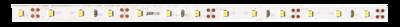 Лента светодиодная PLS 2835/60-12V-WW 6Вт/м IP65 бел. теплый (уп.5м) JazzWay 2859037 LED 12В 3500К 5м 1м купить в Москве по низкой цене