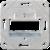 Монтажная плата для универсальных 3-ех модулей JUNG UMB-MA3