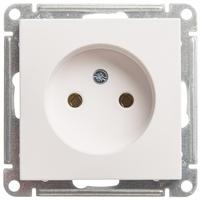 Механизм розетки 1-м СП W59 16А IP20 без заземл. защ. шторок бел. SchE RS16-153-1-86 Schneider Electric купить по оптовой цене