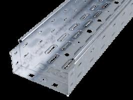 Лоток перфорированный 100х 80х2000х0,7мм   35312 DKC (ДКС) листовой L2000 сталь купить в Москве по низкой цене