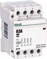 Модульный контактор 4НО 63А 230В МК-103   18088DEK DEKraft Schneider Electric купить по оптовой цене