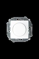 Механизм светорегулятора СП 500Вт Simon15 бел. 1591311-030 поворотно-нажимной 230В винт зажим Регулятор напряжения купить в Москве по низкой цене