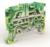 Клемма заземления 2 точки подключения на 2,5 кв.мм | ZEFCE200 DKC (ДКС)
