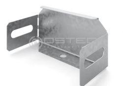 Заглушка торцевая к лотку OSTEC 200х50 (ЗТ-200х50)