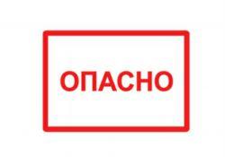 Символ Опасно 210х297мм SQ0817-0022 TDM