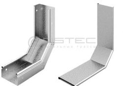 Угол внутренний (плавный) к лотку OSTEC 100х100 (УВНТ-100(100))