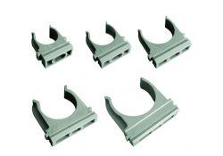 Крепеж-клипса для трубы 20 мм (100шт) SQ0405-0002 TDM