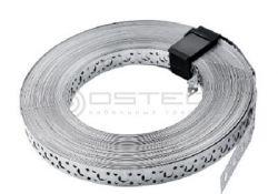 Лента перфорированная OSTEC 19х0.75мм (рулон 30 м) (ЛП200)
