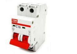 Автоматический выключатель ВА47-29 3Р 20А 4,5кА х-ка D SQ0206-0174 TDM