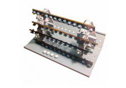 Распределительный блок на DIN-рейку РБ-160 4П 160А (4 шины 2x9+2x8+7x7+1x12) SQ0823-0007 TDM