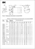 Электродвигатель АИР DRIVE 3ф 63B4 380В 0.37кВт 1500об/мин 3081 IEK DRV063-B4-000-4-1530 (ИЭК)