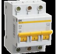 Автоматический выключатель ВА47-29 3Р 20А 4,5кА х-ка В MVA20-3-020-B ИЭК