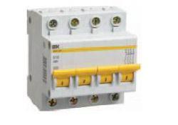 Автоматический выключатель ВА 47-60 1Р 63А 6 кА х-ка С MVA41-1-063-C ИЭК