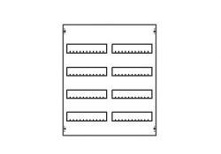 Модуль для модул уст-тв 2ряда/4рейки MBG204 ABB