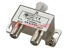Сплиттер (разветвитель-сумматор) 1х2 5-1000MHz 4dB Rexant 05-6001 REXANT купить по оптовой цене