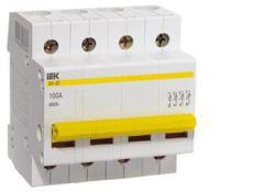 Выключатель нагрузки (мини-рубильник) ВН-32 4Р 63А MNV10-4-063 ИЭК