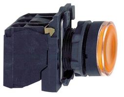 КНОПКА 22ММ 48-120В ЖЕЛТАЯ С ПОДСВЕТКОЙ   XB5AW35G5 Schneider Electric цена, купить