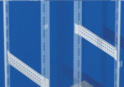 Рейки боковые широкая для шкафов CQE глубиной 600мм 1 уп - 4шт R5PDL600 DKC