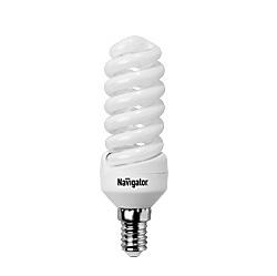 Лампа люминесцентная компактная КЛЛ 94 289 NCL-SF10-15-827-E14 Navigator 4607136942899 цена, купить в Москве