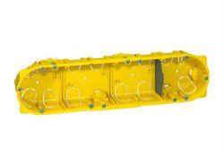 Коробка BATIBOX для СУХИХ перегородок 4п гл.40мм 080044 Legrand