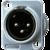 Разъем совместимый в универсальном корпусе, штекер JUNG CXLR-S