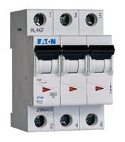 PL6-C40/3 Выключатель автоматический 40А, кривая отключения С, 3 полюса, откл. способность 6 кА EATON купить по оптовой цене