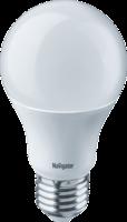 Лампа светодиодная 94 387 NLL-A60-10-230-2.7K-E27 10Вт грушевидная 2700К тепл. бел. E27 750лм 170-260В Navigator 94387 18838 LED Е27 230В матовая купить в Москве по низкой цене