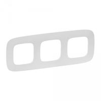 Рамка 3-м Valena Allure универсальная жемчуг Leg 754413 Legrand купить по оптовой цене