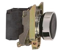 Кнопка черная без фиксации 22мм 1но Schneider Electric XB4BA21 купить в Москве по низкой цене