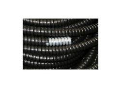 Металлорукав Р3-Ц в ПВХ 10 черный (100 м) RuVinil