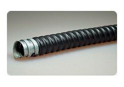 Металлорукав в ПВХ оболочке Р3-ЦП-НГ-22 мм (50 м/уп) Промрукав