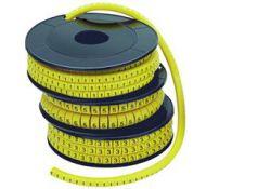 Маркер МК1- 2,5мм символ 3 1000шт/упак UMK10-3 ИЭК