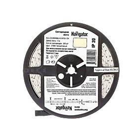 Лента светодиодная 71 402 NLS-3528WW60-4.8 IP20 12B R5 Navigator 4670004714027 - купить по низким ценам.