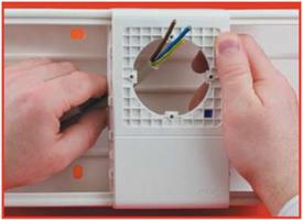 Рамка-суппорт PDA-N 150 для электроустановочныx изделий 60х60 мм In-liner 10173 DKC, цена, купить