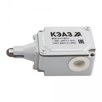 Выключатель путевой контактный ВПК-2111Б-У2 | 151285 КЭАЗ (Курский электроаппаратный завод) 2111Б У2 купить в Москве по низкой цене