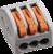 Зажим клеммный проходной сечение провода 2.5мм² 32А 400В термопласт Navigator 71290