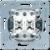 Переключатель двухклавишный (механизм) JUNG