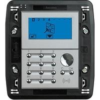 BT Axolute Алюминий Устройство локального контроля с дисплеем для системы Охранной сигнализации HC4608 Bticino (Legrand) купить по оптовой цене