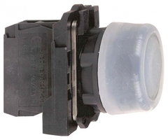 Кнопка черная прозрачная с силиконовым колпачком Schneider Electric XB5AP21 22мм возвр зел купить в Москве по низкой цене