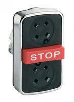 ГОЛОВКА КНОПКИ ТРОЙНАЯ БЕЗ ВСТАВОК ZB4BA791 | Schneider Electric для цена, купить