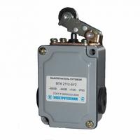 Выключатель путевой ВПК 2112Б У2 IP65 рычаг с роликом ET001001 Электротехник, цена, купить