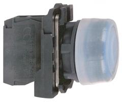 Кнопка синяя 1нз с выступом XB5AP61 Schneider Electric 22мм возвр цена, купить