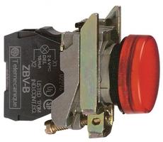 СИГНАЛЬНАЯ ЛАМПА 22ММ 230-240В XB4BVM4 | Schneider Electric красная купить в Москве по низкой цене