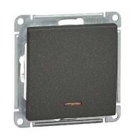 Механизм выключателя 1-кл. W59 с подсвет. 10АХ черн. бархат SchE VS110-153-6-86 Schneider Electric купить по оптовой цене